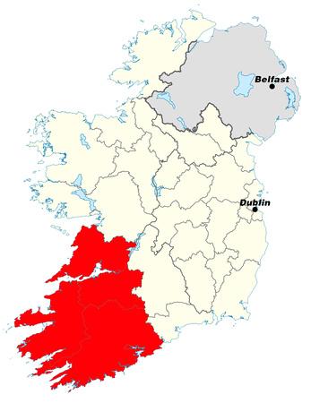 Carte - Irlande Ouest